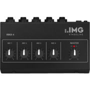 4-channel miniature microphone mixer