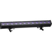 LED light bar for outdoor applications, IP65, RGBW