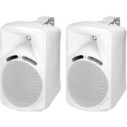 Pair of high-quality PA speakers, 40 W<sub></sub>, 8 Ω