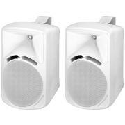 Pair of high-quality PA speakers, 75 W<sub></sub>, 8 Ω