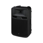 Active power PA speaker system with 2-channel amplifier, 700 W