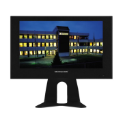 LCD colour monitor with LED backlight in a metal housing