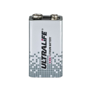 9 V lithium battery, high-energy
