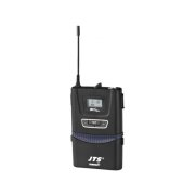 UHF PLL pocket transmitter with lavalier microphone