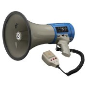 Megaphone with MP3 function, 110 dB