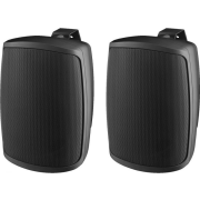 Pair of 2-way speaker systems, 30 W, 8 Ω, black