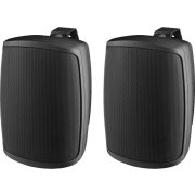 Pair of 2-way PA speaker systems, black