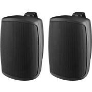 Pair of 2-way speaker systems, 40 W, 8 Ω, black