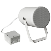Weatherproof PA sound projector for wall mounting with EN 54-24 certification