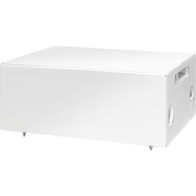 Wall-mount PA subwoofer, 2 x 60 W, white