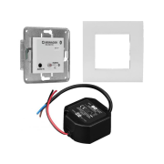 Flush-mounted module with Bluetooth audio receiver/amplifier 5 W, stereo