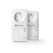 ZIRCON PL 500 Powerline adaptér, 500Mbps, 2ks v balení
