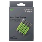 GP Charge AnyWay 2v1 power bank a nabíječka