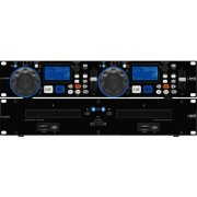 DJ dual CD and MP3 player