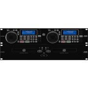 Professional DJ dual CD and MP3 player