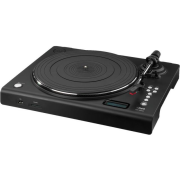 Stereo hi-fi turntable with USB port, SD card slot and phono preamplifier