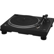 Stereo hi-fi turntable with USB port and phono preamplifier