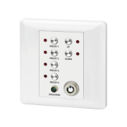 Wall-mounted remote control panel