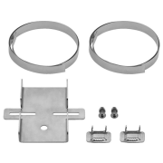 Pole mount set for horn speakers or cameras, V2A