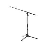 Half-height microphone floor stand