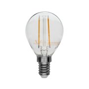 Drop-shaped LED filament lamp, E14, ˜ 230 V/2 W, not dimmable